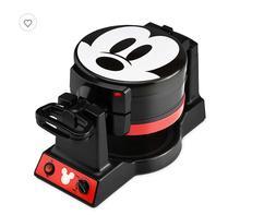 Disney Mickey Mouse Double Flip Waffle Maker Brand New