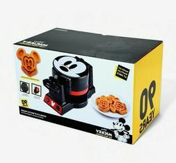 Disney Mickey Mouse Double Flip Waffle Maker Mini 90th Anniv