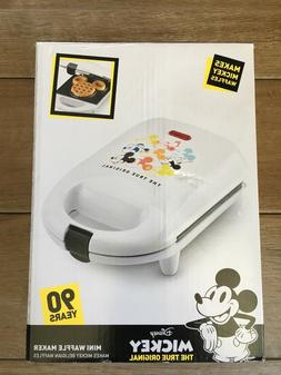 Disney Mickey Mouse Mini Belgian Waffle Maker NEW 90th Anniv