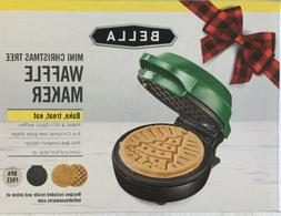 "Bella Mini Christmas Tree Waffle Maker, 4"" classic Christmas"
