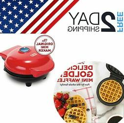 Mini Dash Waffle Maker Griddle 3 Set And Grill Breakfast Ele
