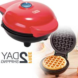 Mini Electric Griddle Waffle Paninis Hash Browns Maker Cooke