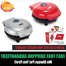 Mini Electric Waffle Pancake Maker Dash Cooking Griddle Non