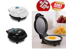 Mini Maker Electric Round Griddle for Individual Pancakes Eg