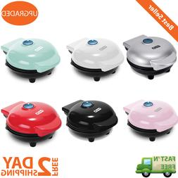 Mini Maker Electric Round Griddle Individual Pancakes Cookie