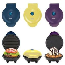 Dash Mini Maker Griddle, Waffle Maker and Grill Set  New