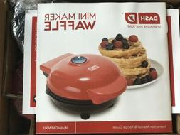 Dash Mini Maker Red Small Waffle Maker Machine For Chaffles
