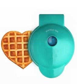 Dash Mini Maker:  Set of 2 Mini Waffle Maker, Heart Shaped I
