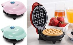 DASH Mini Waffle Maker Machine for Individual Waffles assort