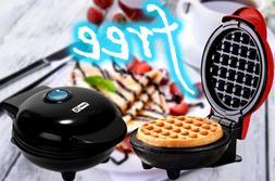 Dash Mini Maker The Mini Waffle Maker Machine for Individual