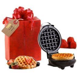 Dash Mini Maker Waffle with Gift Box & Bow NIB