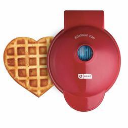 Dash DMW001HR Mini Heart Maker Waffle Iron, Shaped Goodness,