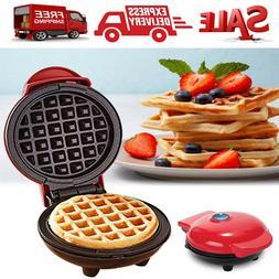 Mini Waffle Maker Dash Individual Kids Panini Press Browns S