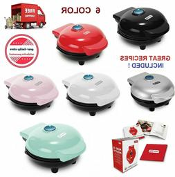 Mini Waffle Maker Machine Electric Cooking Set Panini Press