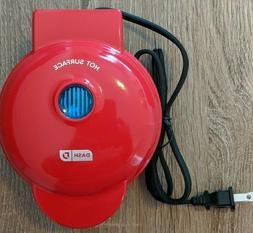 Dash Mini Waffle Maker - Red DMW001RD