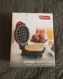 Dash Mini Waffle Maker Waffle Iron - Red - New In Box