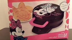 Disney Minnie Mouse Waffle Maker Waffle Iron With Instructio