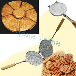 MOLD MAKER SWEET WAFFLES BAKING RUSSIAN COOKIES WAFFLE COOKI