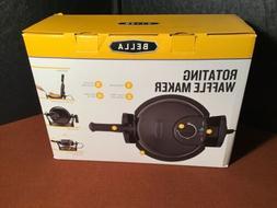 new 13591 rotating waffle maker opened box