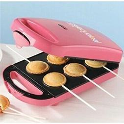 new babycakes pm-100hs 6 pie pop maker minature nonstick coa