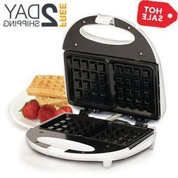NEW Belgian Waffle Maker Commercial Double Waring Breakfast