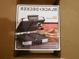 new black decker 3 in 1 waffle