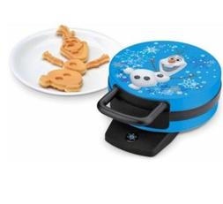 New Disney Frozen Olaf The Snowman Waffle Maker 800 Watts No