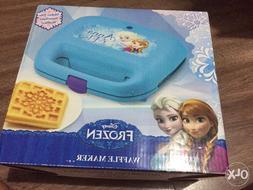 New Disney Frozen Anna and Elsa Waffle Maker - 2 Square Slic