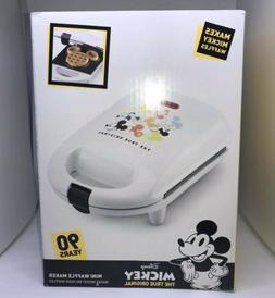 NEW IN BOX - Disney Mickey Mouse 90th Anniversary Waffle Mak