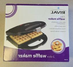New, in box.Rival Waffle Maker. Free Shipping