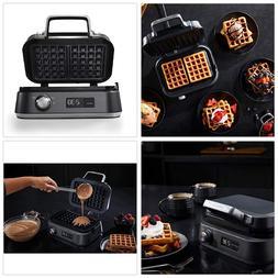 new intellicrisp waffle maker dark stainless steel