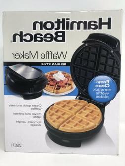 NEW- Hamilton Beach Nonstick Belgian-Style Waffle Maker | Mo