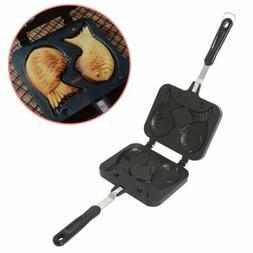 Taiyaki Fish Shape Cake Pan Waffle Cake Maker Pan Fish-Shape