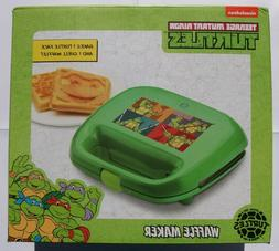 New Nickelodeon Teenage Mutant Ninja Turtles 2-Slice Waffle
