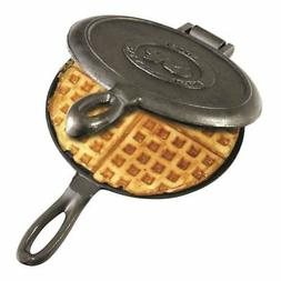 New Waffle Maker Pan Stove Camping Traditional Cast Iron Ind