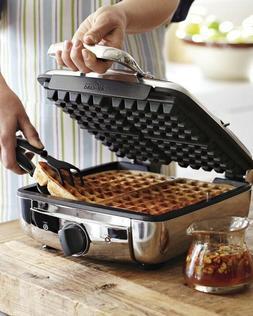 nib all clad 4 square waffle 4