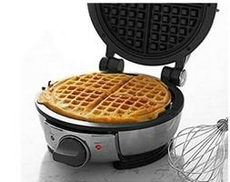 NIB All-Clad WD700162 Stainless Steel Classic Round Waffle M