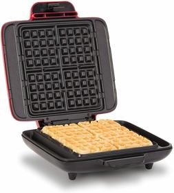 DASH No Mess Belgian Waffle Maker: Waffle Iron 1200W + Waffl