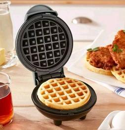 DASH Nonstick Mini Waffle Maker NEW silver color new in box