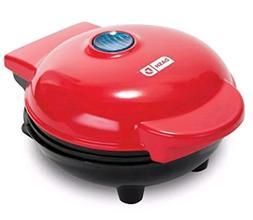 Dash Nonstick Mini Waffle Maker Red