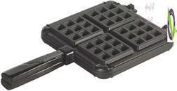 Nordicware 15040 Cast Aluminum Stovetop Beium Waffle Iron