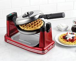 Nostalgia RFW600 Retro Series Non-Stick Flip Belgian Waffle
