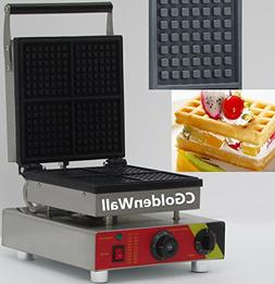 CGOLDENWALL NP-505 4pcs Commercial Waffle Maker Electric Waf