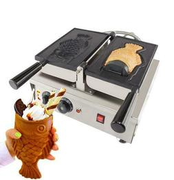 open mouth fish waffle maker commercial use