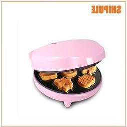 pink Cake <font><b>Maker</b></font> <font><b>Waffle</b></fon