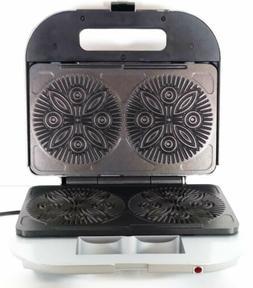VillaWare Pizzelle Maker Baker UNO Series Model 2060 NWOB  c