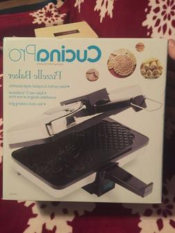 pizzelle maker electric baker non stick extra