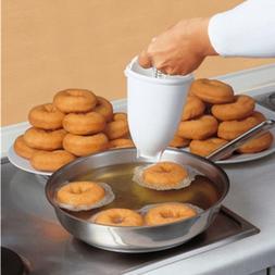 Plastic Mini Donuts <font><b>Maker</b></font> Dessert Dispen