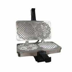 CucinaPro Polished Kitchen Pizzelle or Cannolo Baker Italian