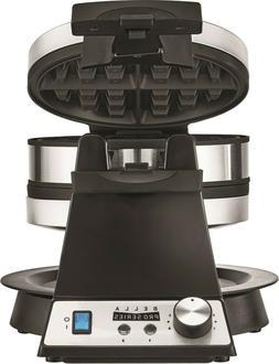 pro series belgian flip waffle maker in